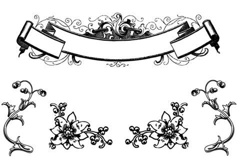 Hops For Decoration Free Antique Floral Ornaments And Scroll Clip Art