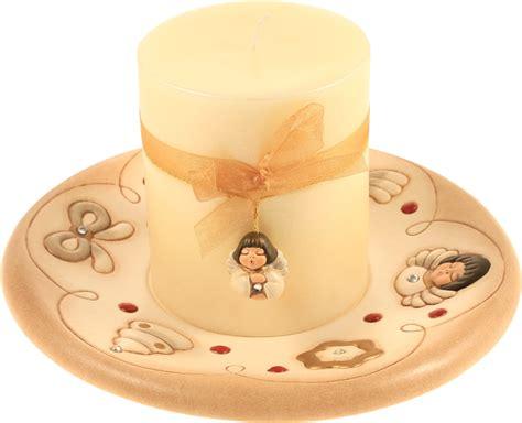 thun candele centrotavola con candela avorio