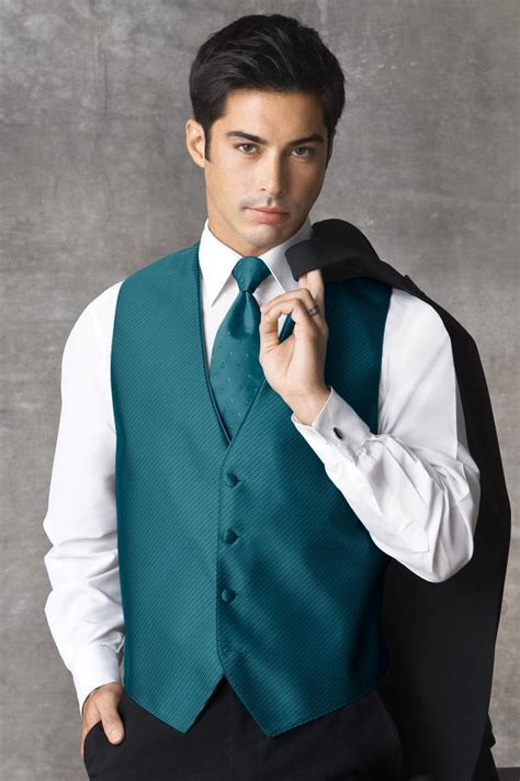 customized hair stylist vest synergy teal vest jim s formal wear