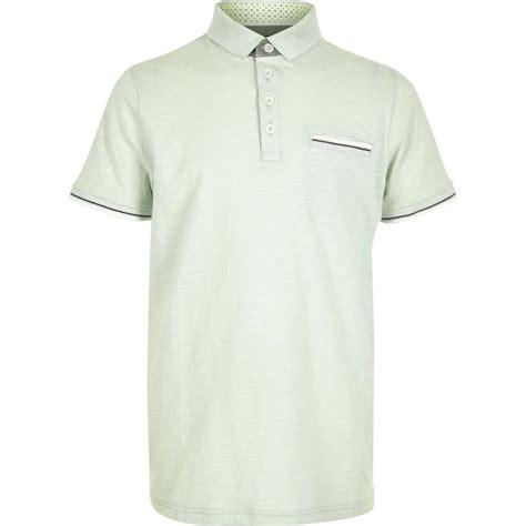 Sale Set Boy Polo Import boys mint green tipped polo shirt polo shirts sale boys