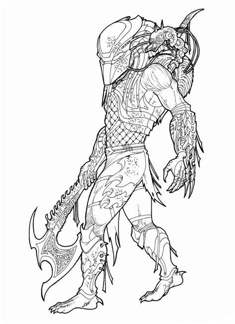 vs predator drawings vs predator coloring pages 10 free printable