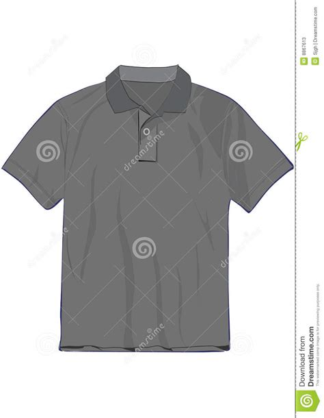 design a polo shirt template polo t shirt design template stock photos image 8867613