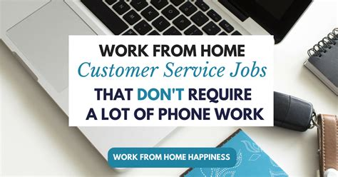 work from home customer service that don t require a
