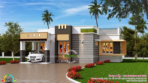 kerala home design 1000 sq ft 1100 sq ft contemporary style small house kerala home