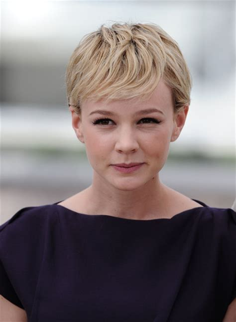 women of france hair styles celebrity hairstyles carey mulligan s pixie pretty designs