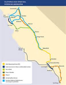 statewide rail modernization programs california high