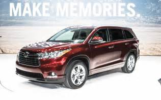 new cars 2014 toyota look 2014 toyota highlander new cars reviews