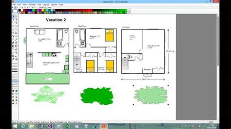 easy to use floor plan software ez architect easy to use draw software for floor plans and