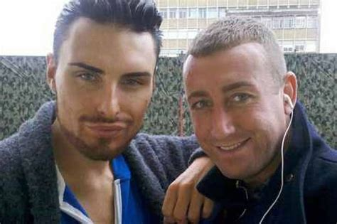 liverpools x factor star christopher maloney shows off new tattoo liverpool x factor contestant christopher maloney eyes up