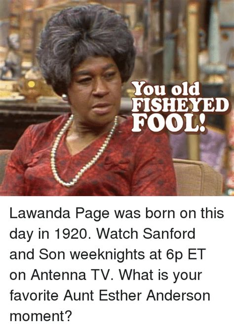 Aunt Esther Meme - 25 best memes about sanford and son sanford and son memes