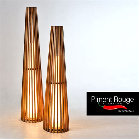 Floor L Bulbs by Costello Floor Ls With The Conical Shaped Teakwood