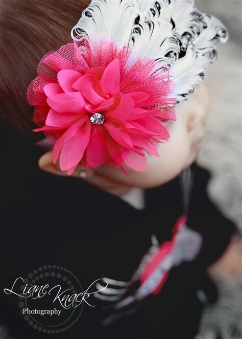 baby pink pettiskirt and feather headband hair bows baby 81 best hair bows images on hair bows