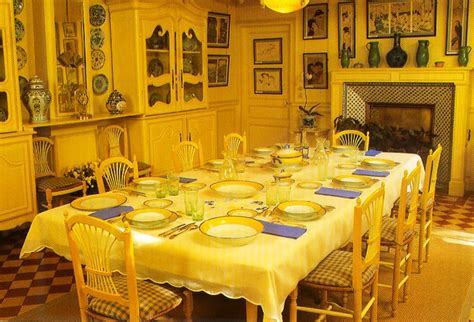 monet dining room dining with antiques monet s dishes worthpoint