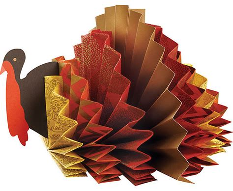 turkey rosette centerpiece kit contemporary