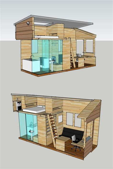 tiny house trailer plans who interior plan for a tiny house to be built on an 8 x 20