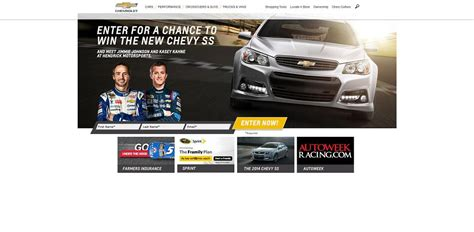 Chevy Sweepstakes - winyourchevy com win the 2015 chevrolet ss sweepstakes