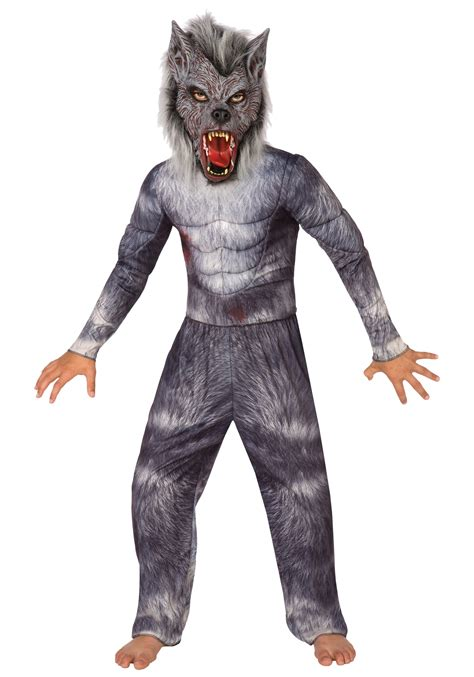 wolf costume for boys costume