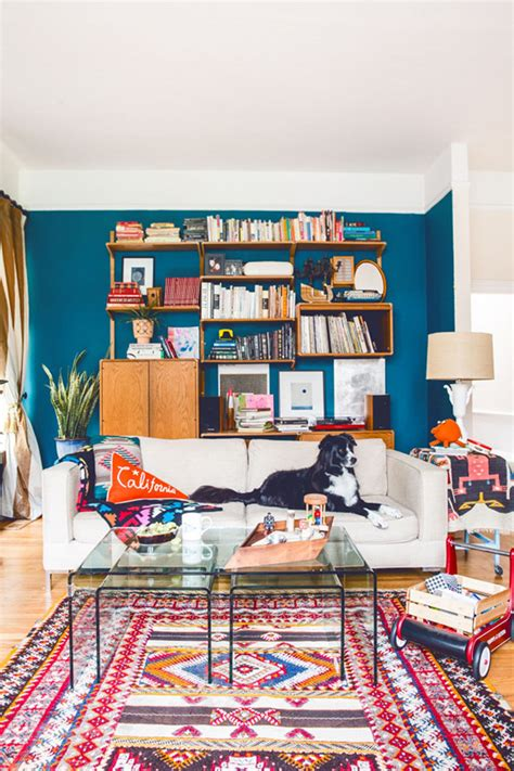 Design Sponge Living Room by A San Francisco Home That Knows How To Celebrate Color
