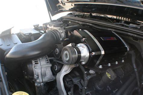 Jeep Jk Supercharger Sprintex Usa Supercharger Generates Power On Demand For