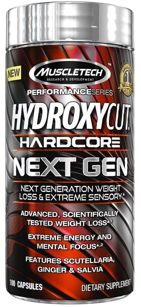 Hydroxycut Nextgen Next 100 Caps T0210 muscletech hydroxycut next 100 caps