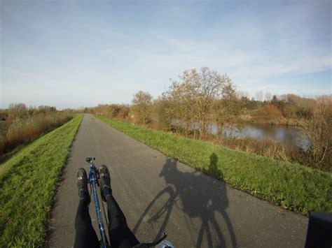 roeien of fietsen liggend fietsen roeien en mooi weer