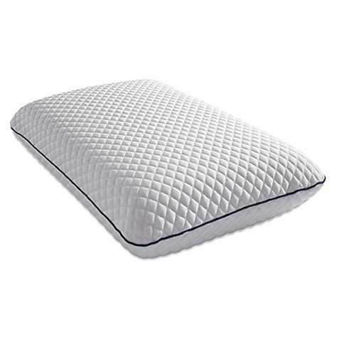 memory foam pillow bed bath beyond pure breeze bliss cool gel memory foam pillow bed bath