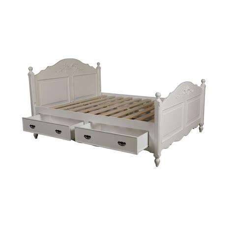 lit 140x190 avec sommier 151 lit 224 tiroirs 140x190 cm avec sommier 224 lattes blanc