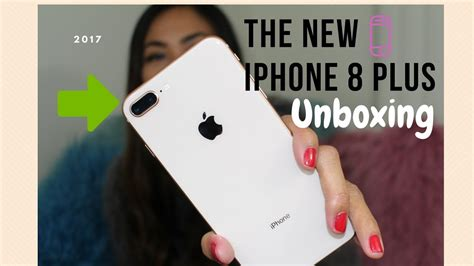 iphone 8 plus gold unboxing maureen