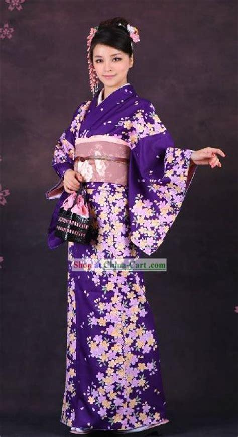 Setelan Japanese Pink kimono pakaian adat khas jepang