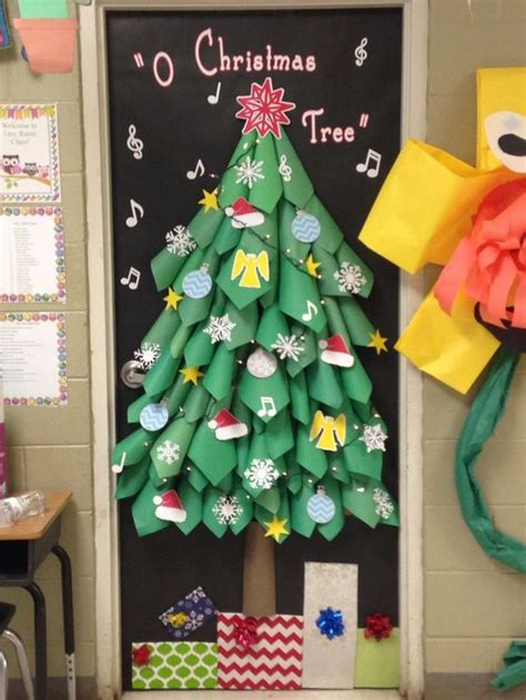 12 days of christmas on pinterest christmas door decorations diy door decorating ideas nj teachers lounge