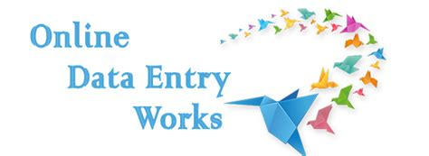 Work From Home Jobs Online Data Entry - we are 5 years old govt registered and iso 9001 2008 certified company providing