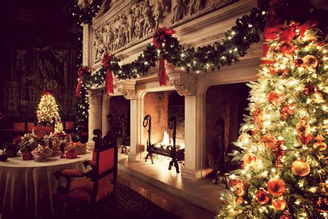 biltmore fireplace at christmas skimbaco lifestyle