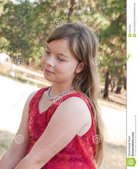 girl face pre pretty pre teen girl stock photography image 26276332