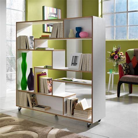 librerie a libreria su ruote moving in legno laccato bianco 145 x 160 cm