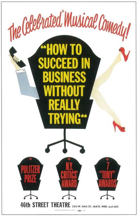 wholesale posters merchandise for your business poster how to succeed in business without really trying broadway