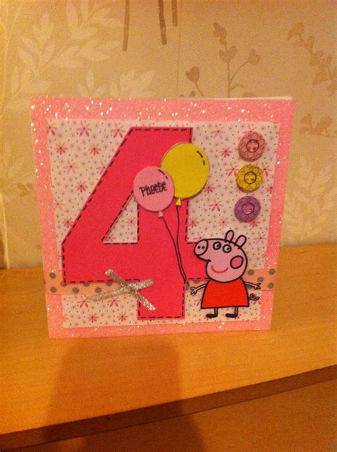 Pig Birthday Card 1000 Images About Peppa Pig Card On Pinterest Peppa Pig