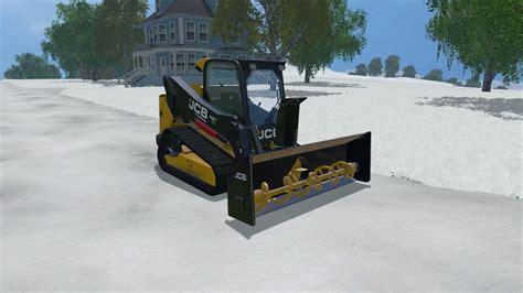 salt ls and cats snow plow pack v 1 0 ls15 farming simulator 2019 2017
