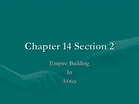 chapter 14 section 1 chapter 14 section 2
