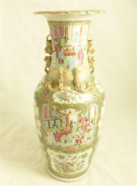 Famille Vase by 19th C Famille Verte Vase Delftware Ceramics