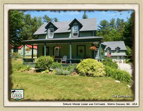 cottages for rent in nh spruce moose lodge new hshire
