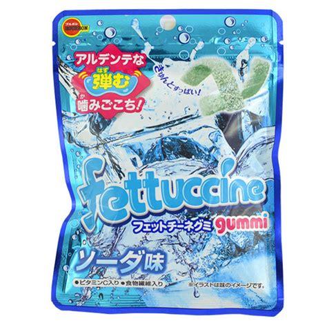 Bourbon Fettuccine Soda Gummy japan centre bourbon fettuccine gummi soda gummy