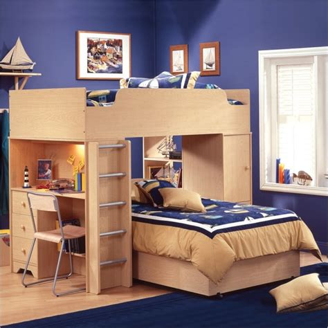 bedroom l ideas interesting bunk beds design ideas for boys and girls