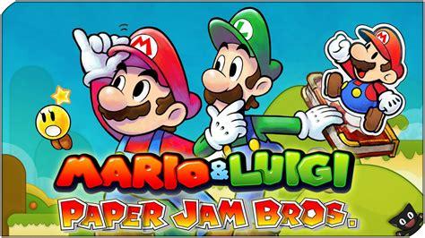 Kaset 3ds Mario Luigi Paper Jam el heroe de papel 03 mario luigi paper jam bros nintendo 3ds