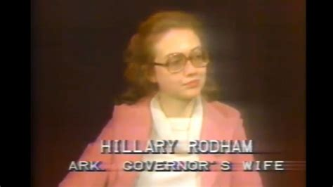 Photos Of Hillary Clinton S Life And Political Career | youthful hillary clinton talks political marriage in