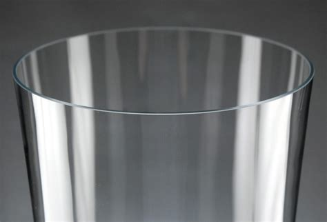 24 Inch Cylinder Vases by Voluminous 24 Inch Thick Glass Cylinder Vase