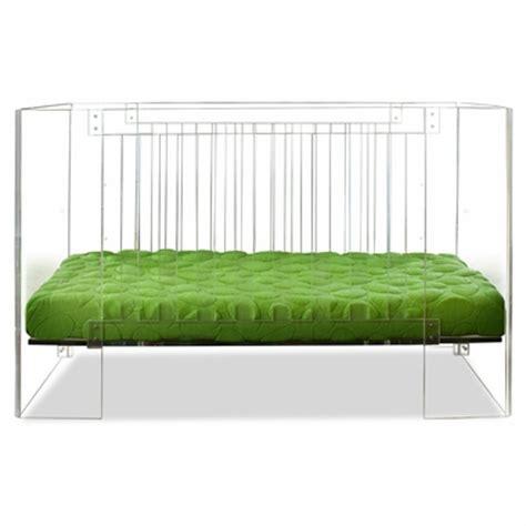 clear baby crib nurseryworks vetro crib in clear acrylic free shipping