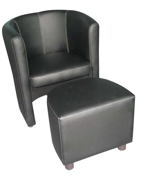 tub chair with ottoman leather tub chair for perfect home office