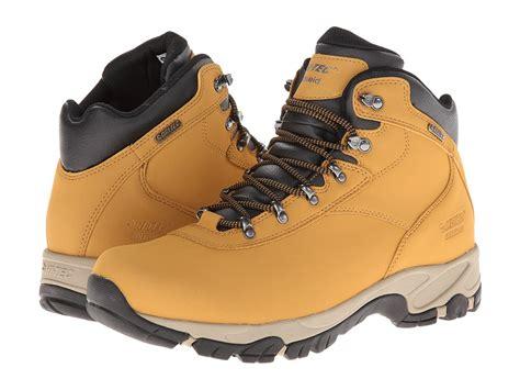wide width hiking boots hi tec altitude v s wide width waterproof hiking shoes