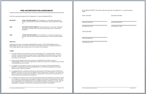Business Contract Template Microsoft Word Templates Employee Housing Agreement Template