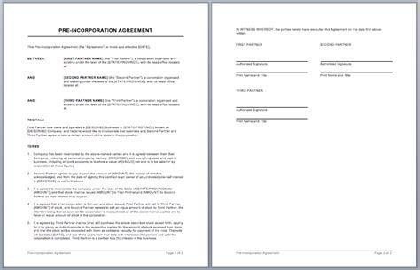 %name Corporate Partnership Agreement Template